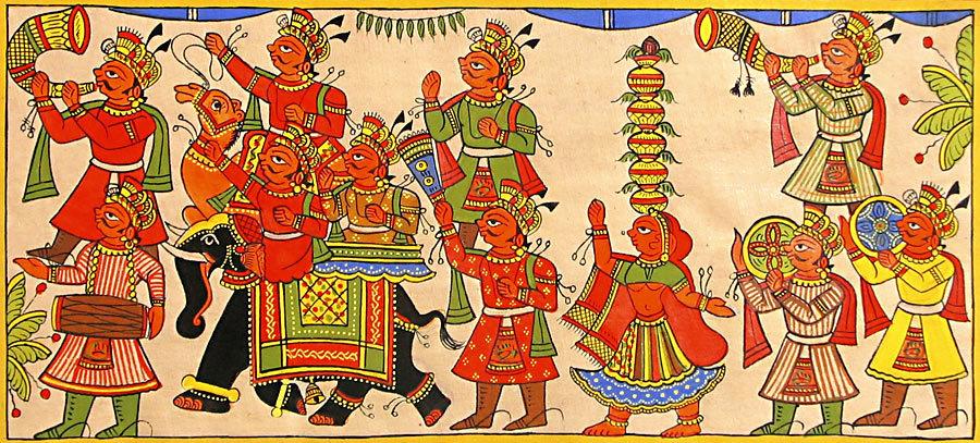 festive-procession-of-rajasthan-