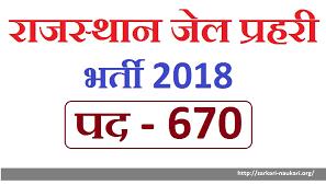 Rajasthan jail prahari exam Check Latest update 2018 cancelled